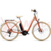 Bicicleta Cube Ella Ride Hybrid 500 Easy Entry Red/Grey 2021