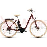 Bicicleta Cube Ella Ride Hybrid 500 Easy Entry red/white 2020