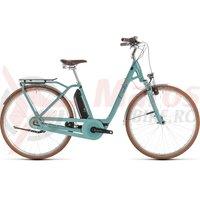 Bicicleta Cube Elly Cruise Hybrid 400 Easy Entry Pistachio/Blue 2019