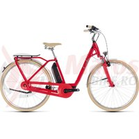Bicicleta Cube Elly Cruise Hybrid 400 Easy Entry Red Mint 2018