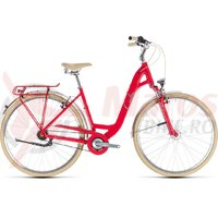 Bicicleta Cube Elly Cruise red/mint 2018