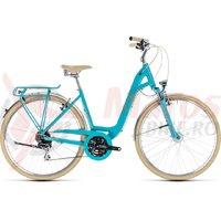Bicicleta Cube Elly Ride aqua/orange 2018
