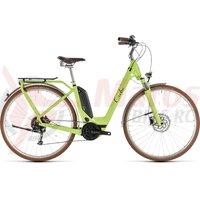 Bicicleta Cube Elly Ride Hybrid 400 Easy Entry Green/Black 2019