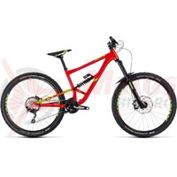 Bicicleta Cube Hanzz 190 Race 27.5 red/lime 2018