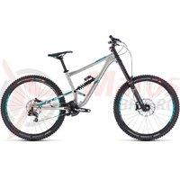 Bicicleta Cube Hanzz 190 SL 27.5 metal/mint 2018