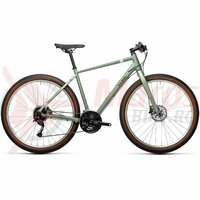 Bicicleta Cube Hyde Green/Grey 28