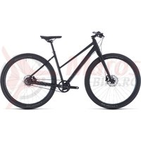 Bicicleta Cube Hyde Pro Trapeze Black/Blue 2020