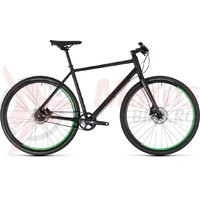 Bicicleta Cube Hyde Race black/green 2018