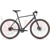 Bicicleta Cube Hyde Race Iridium/Black 2021
