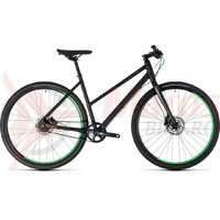 Bicicleta Cube Hyde Race Trapeze black/green 2018