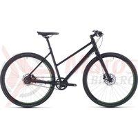 Bicicleta Cube Hyde Race Trapeze Black/Green 2020