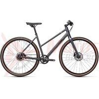 Bicicleta Cube Hyde Race Trapeze Iridium/Black 2021