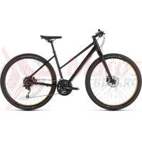 Bicicleta Cube Hyde Trapeze Black/Yellow 2019