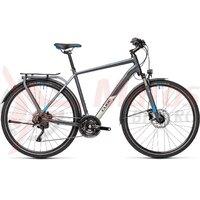 Bicicleta Cube Kathmandu EXC Grey/Blue 2021