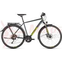 Bicicleta Cube Kathmandu EXC Iridium/Green 2019