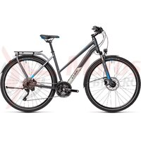Bicicleta Cube Kathmandu EXC Trapeze Grey/Blue 2021