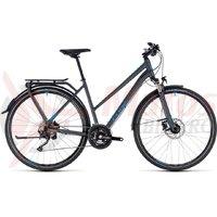 Bicicleta Cube Kathmandu EXC Trapeze iridium/blue 2018