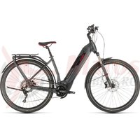 Bicicleta Cube Kathmandu Hybrid EXC 500 Easy Entry iridium/red 2020