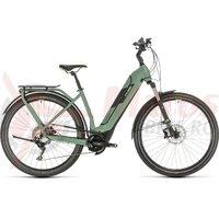 Bicicleta Cube Kathmandu Hybrid EXC 625 Easy Entry green/green 2020