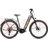 Bicicleta Cube Kathmandu Hybrid EXC 625 Easy Entry Teak/Green 2021