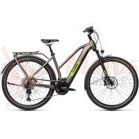 Bicicleta Cube Kathmandu Hybrid EXC 625 Trapeze Teak/Green 2021