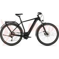 Bicicleta Cube Kathmandu Hybrid One 500 black/grey 2020