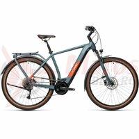 Bicicleta Cube Kathmandu Hybrid One 500 Blue/Red 2021