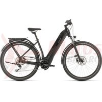 Bicicleta Cube Kathmandu Hybrid One 500 Easy Entry black/grey 2020