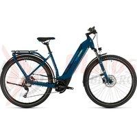 Bicicleta Cube Kathmandu Hybrid One 500 Easy Entry blue/yellow 2020