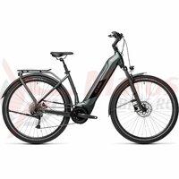 Bicicleta Cube Kathmandu Hybrid One 500 Easy Entry Iridium/Black 2021
