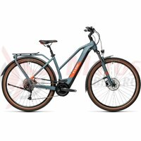 Bicicleta Cube Kathmandu Hybrid One 500 Trapeze Blue/Red 2021