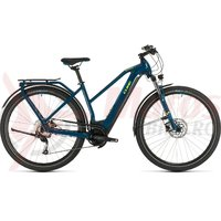 Bicicleta Cube Kathmandu Hybrid One 500 Trapeze blue/yellow 2020