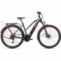 Bicicleta Cube Kathmandu Hybrid One 500 Trapeze Iridium/Black 2021