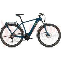 Bicicleta Cube Kathmandu Hybrid One 625 blue/yellow 2020