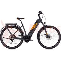 Bicicleta Cube Kathmandu Hybrid Pro 625 Easy Entry grey/orange 2020