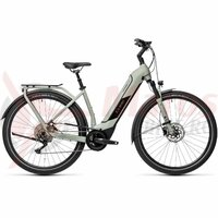 Bicicleta Cube Kathmandu Hybrid Pro 625 Easy Entry Lunar/Grey 2021