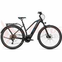 Bicicleta Cube Kathmandu Hybrid Pro 625 Trapeze Black/Blue 2021