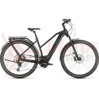 Bicicleta Cube Kathmandu Hybrid SL 625 Trapeze black/blue 2020
