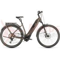 Bicicleta Cube Kathmandu Hybrid SLT 625 Easy Entry teak/silver 2020