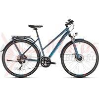 Bicicleta Cube Kathmandu Pro Trapeze Blue/Blue 2019