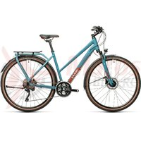 Bicicleta Cube Kathmandu Pro Trapeze Blue/Red 2021