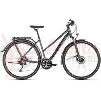 Bicicleta Cube Kathmandu Pro Trapeze Iridium/Black 2019