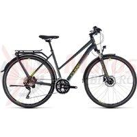 Bicicleta Cube Kathmandu Pro Trapeze iridium/green 2018
