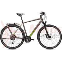 Bicicleta Cube Kathmandu SL Teak/Green 2021