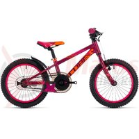 Bicicleta Cube Kid 160 fete berry/pink 2018
