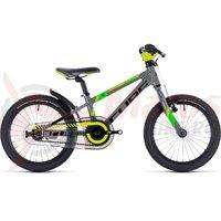 Bicicleta Cube Kid 160 grey/green/kiwi 2018