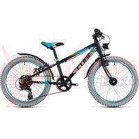 Bicicleta Cube Kid 200 Allroad black/blue 2018
