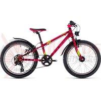 Bicicleta Cube Kid 200 Allroad fete berry/pink/kiwi 2018