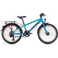 Bicicleta Cube Kid 200 Street Blue/Black 2019