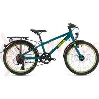 Bicicleta Cube Kid 200 Street Petrol/Green 2020